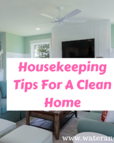 Housekeeping Tips For A Clean Home